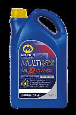 MORRIS 10W50 X-RPM (MLR) COMPETITION FULLY SYNTHETIC RACE PROVEN  ENGINE OIL