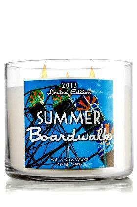 Summer Boardwalk Candle Ebay