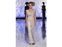 David Fielden Wedding Dress, full length, size 10