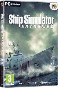 SHIP SIMULATOR EXTREMES - EXTREME WEATHER + SHIPS - NEW WINDOWS 7, XP, VISTA