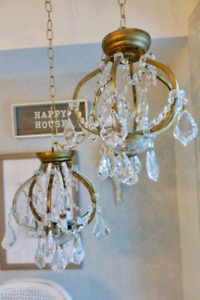 Crystal Chandeliers antique