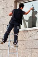 Service de lavage de vitre et entretien de pelouse Meilleur prix