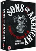 Sons of Anarchy 1 2 3 DVD