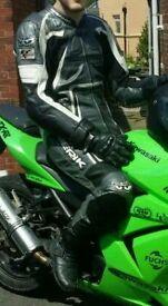 Full bike leathers