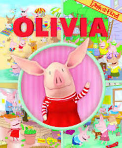 Look & Find Olivia Book ~ hard cover ~ excellent condition