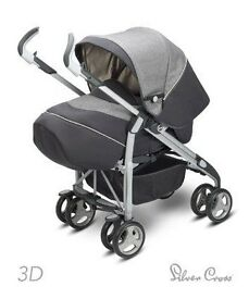 Silver Cross 3D Travel System Great Condition