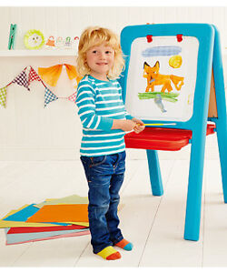 Fun Great Quality Kids Art Easel by ELC 2-Sided Excellent Shape!