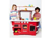 wooden diner play kitchen ELC REDUCED