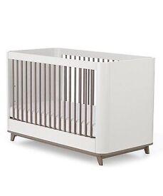 Mothercare cotbed, mattress, bumper & protectors