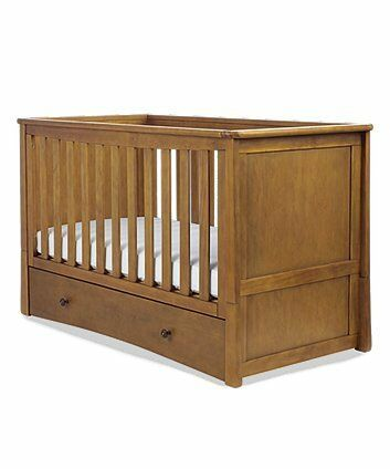 Mothercare Harrogate Cot Bed - Heritage
