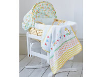 Mothercare Roll Up Roll Up Moses Basket for sale (Available in May)