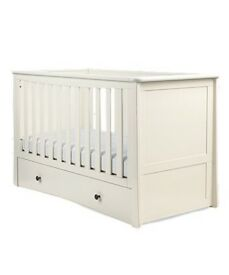 Harrogate Almond Cot Bed
