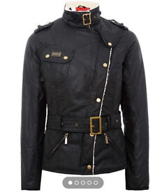 Barbour international matlock jacket size 8 BRAND NEW WITH TAGS RRP £269