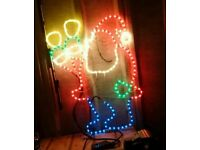 Father Christmas outdoor light