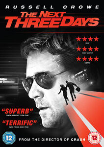 The Next Three Days ( BRAND NEW DVD )