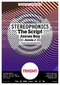 TRNSMT festival tickets (X2) 29th June