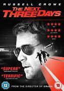 The Next Three Days DVD