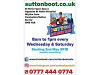 Sutton Car Boot Sale, Giant Outdoor, prime location!
