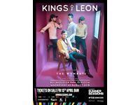 Kings of leon tickets £60 each