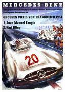 Vintage Mercedes Poster