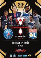 Une place pour le trophée des champions : PSG VS OL