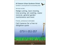 Gardening Services - Friendly, professional & affordable