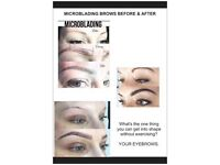 Microblading eyebrows. Maidenhead & Reading