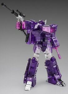 Transformers Masterpiece Shockwave Translucent Phasing NEW