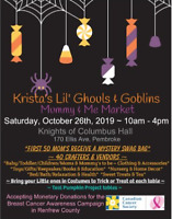 Krista's Lil' Ghouls & Goblins Mummy & Me Market