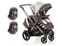 Jane twone double pushchAir buggy stroller
