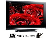 "37""PANASONIC VIERA HD LCD TV WITH BUILT IN FREEVIEW IN VERY GOOD WORKING ORDER ##CAN BE DELIVERED##"