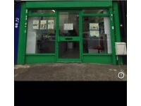 LAUNDERETTE TO RENT ON ALUM ROCK ROAD, BUSY LOCATION.