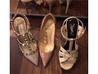 Valentino and louboutins