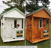 Tall Timber Sheds is giving away a shed this year!