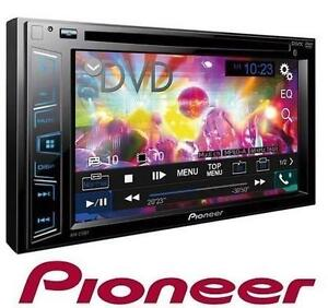 """NEW PIONEER 6.2"""" CAR RECEIVER - 114848024 - DOUBLE DIN BLUETOOTH DVD USB AUX CD MP3"""