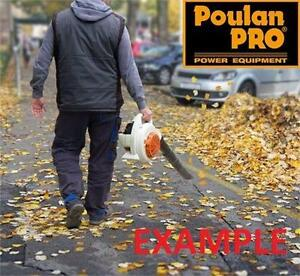 NEW POULAN PRO 2 CYCLE BLOWER   25CC BLOWER  650CFM - 215 MPH WITH VAC CAPABILITY outdoor power tool equipment  85364005