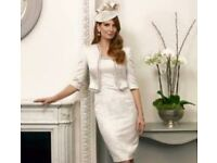 Brand new John Charles mother of the bride outfit size 10