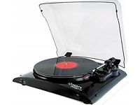 ION Audio Profile LP Turntable with USB Conversion - Black £40 OVNO