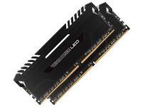 DDR4 Corsair vengeance led 3000mhz 2x8gb modules