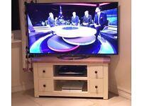 Corner TV Unit - Cream