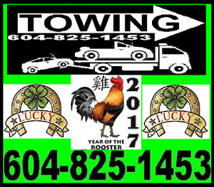 LUCKY 6 TOWING*TOW TRUCK(604)825-1453 RICHMOND,LADNER,VANCOUVER