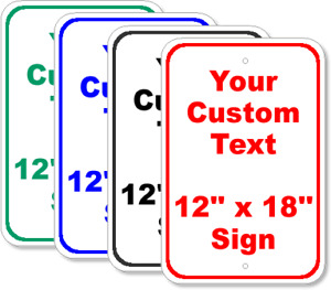 Customized Parking Signs and Yard Signs