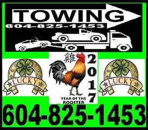 *LUCKY 6 TOWING*TOW TRUCK(604)825-1453 RICHMOND,LADNER,VANCOUVER