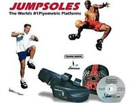 BASKETBALL JUMPSOLES - VERTICAL LEAP & SPEED TRAINING SYSTEM RRP £100