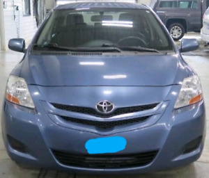 Toyota yaris 2008 sedan