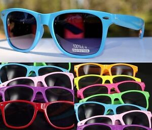 Unisex-Fashion-Wayfarer-Vintage-Retro-Trendy-Cool-100-UV-Sunglasses