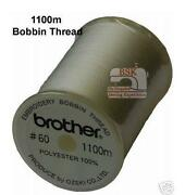 Brother Machine Embroidery Thread