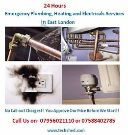 Plumbing, Heating and Electrical services in East London