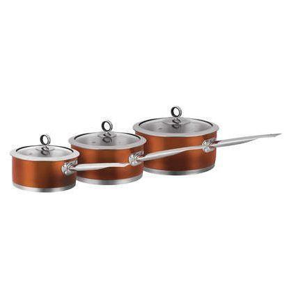 Copper Saucepan Set Ebay