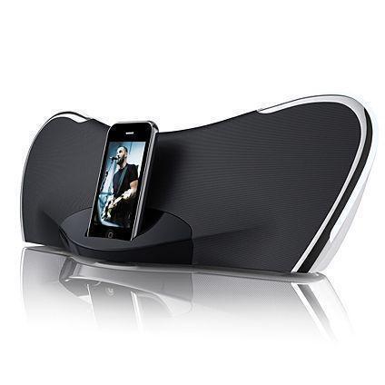 ipod docking station with speakers ebay. Black Bedroom Furniture Sets. Home Design Ideas